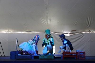 """Nos dois dias, os personagens de Lobato apresentam a peça """"A receita do amor"""" em dois horários, às 11h e às 16h. (Foto: Divulgação/PMT)"""