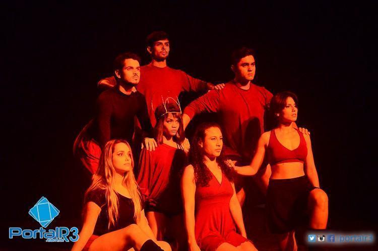 """Na modalidade Dança, a coreografia """"Guerra Santa"""", do ConAtus Studio de Dança, ficou com a vaga para a fase regional. (Foto: Luis Claudio Antunes/PortalR3)"""