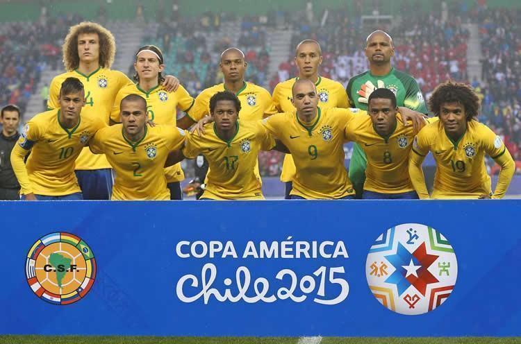 Seleção Brasileira em seu primeiro compromisso na Copa América. (Foto: Rafael RIbeiro / CBF)