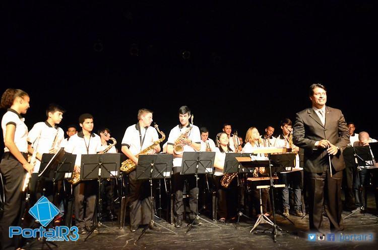 Banda de Aprendizes da Euterpe, regida pelo maestro Marcos Roberto, ficou com a vaga. (Foto: Luis Claudio Antunes/PortalR3)
