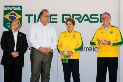 Presidenta Dilma Rousseff durante Comemoração do Dia Olímpico no Rio de Janeiro. (Foto: Roberto Stuckert Filho/PR)