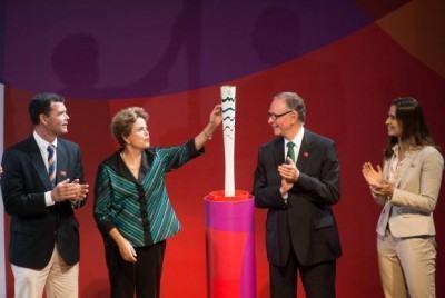 Brasil organizará os Jogos de 2016 com a segurança adequada, diz a presidenta (Marcelo Camargo/Agência Brasil)