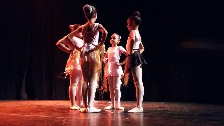 Palco do Municipal ficou lotado para  espetáculo de dança neste domingo. (Foto: Divulgação/PMSS)