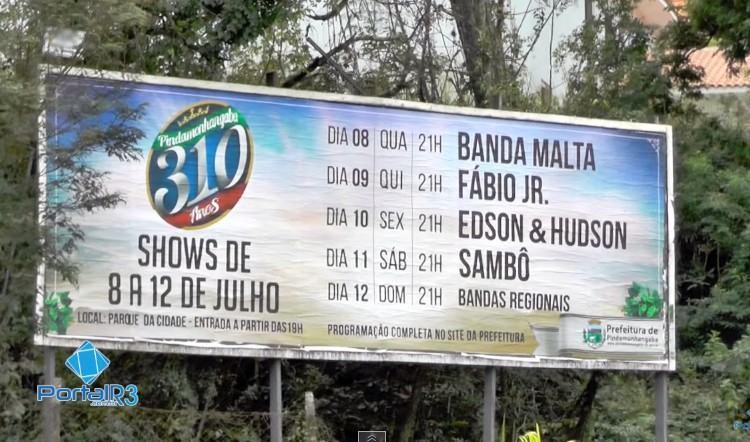 Shows no Parque da Cidade. (Foto: PortalR3)