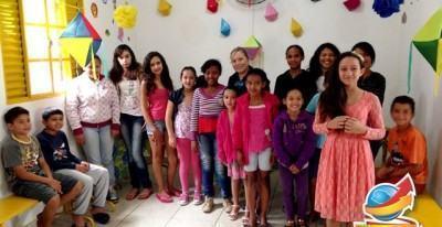 O evento foi marcado pela presença de 45 crianças que fazem parte do Projeto Social Meu Espaço, familiares e funcionários. (Foto: Divulgação/PMT)