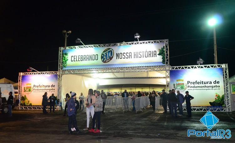 Entrada da festa no Parque da Cidade. (Foto: Célia Lima/PortalR3)