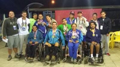 A equipe de atletismo ACD de Caraguatatuba conquistou seis medalhas de ouro, nove de prata e cinco de bronze. (Foto: Divulgação/PMC)