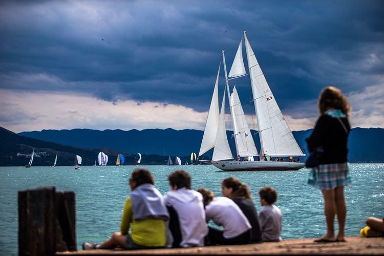 Barcos foram atrações em Ilhabela. (Foto: Marcos Méndez/Sail Station)
