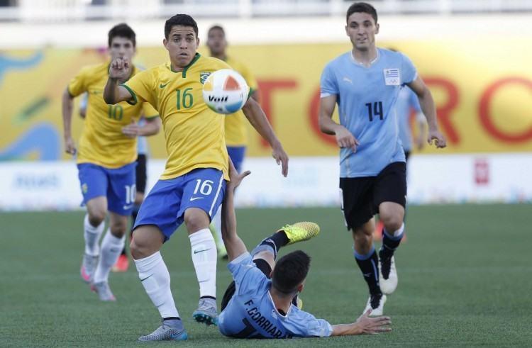Time brasileiro tomou a virada nos minutos finais. (Foto: Rafael Ribeiro/CBF)