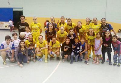 4e925b9009031 Futsal Feminino de São José bate vice-líder e amplia vantagem no Paulista