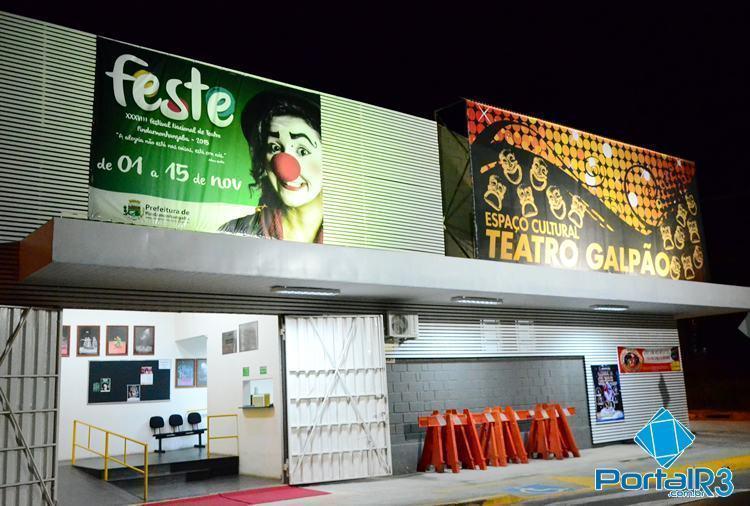Em Pinda, Espaço Cultural Teatro Galpão recebe abertura do Feste