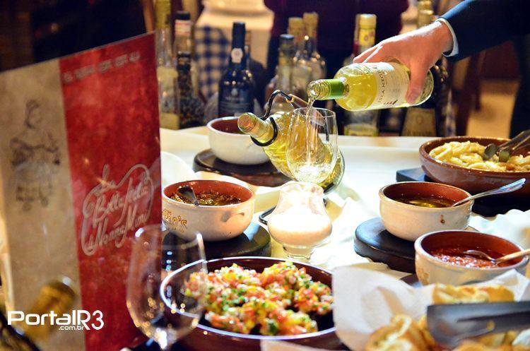 Boa comida regada a um bom vinho é uma boa pedida para a fria Campos do Jordão. (Foto: Luis Claudio Antunes/PortalR3)
