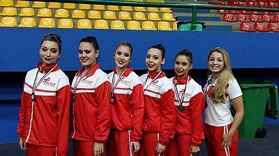 Ginástica Rítmica de Pinda participa em competições estaduais