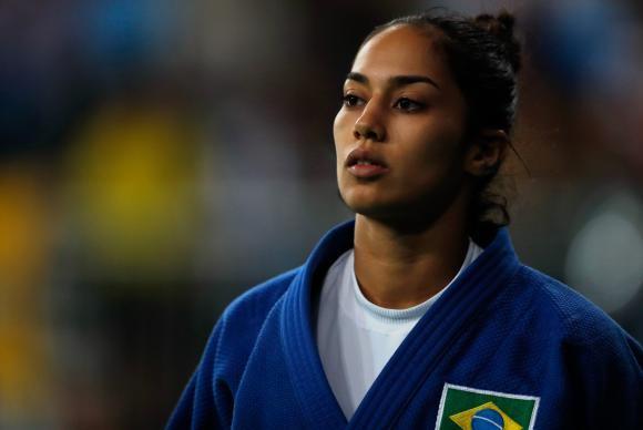 Mariana Silva vence israelense e está nas semifinais do judô