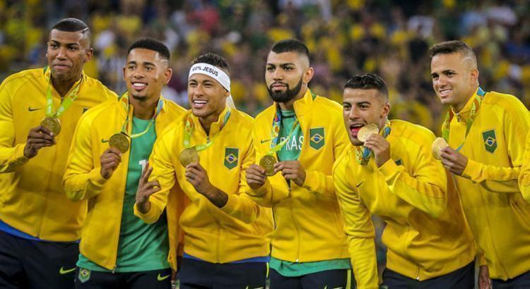 Brasil vence Alemanha e conquista primeiro ouro olímpico do futebol