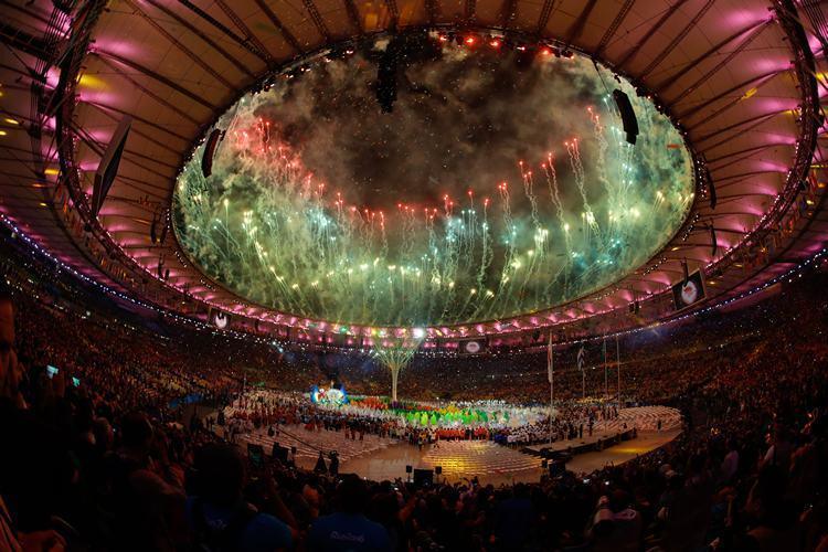 Belíssima festa no Maracanã encerra Jogos Olímpicos do Rio de Janeiro