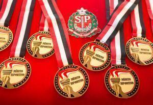 Governador de São Paulo homenageia atletas olímpicos
