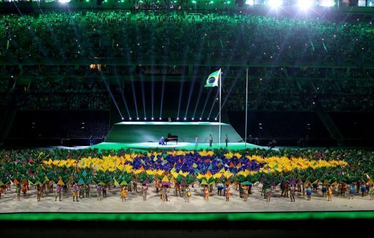 Cerimônia de abertura no Rio de Janeiro. (Foto: Beth Santos/ PCRJ)