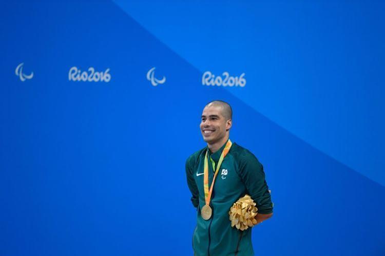 O multimedalhista Daniel Dias estreou com vitória na Paralimpíada. (Foto: Fernando Frazão/Agência Brasil)