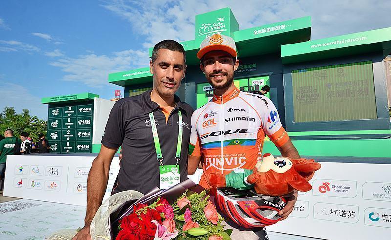 Ciclista Murilo Affonso é destaque na 2ª etapa do Tour de Hainam na China