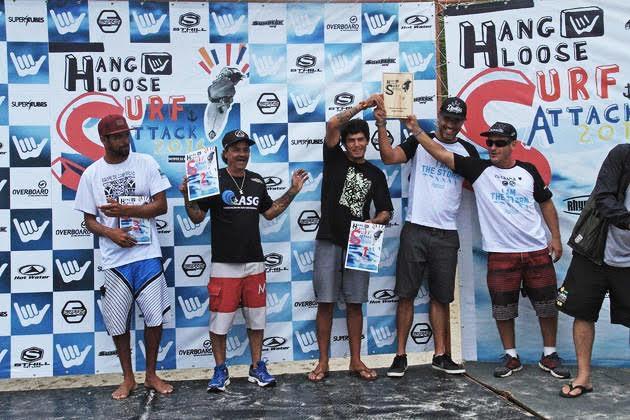 Ubatuba é campeã do circuito Hang Loose Surf Attack