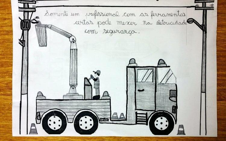 Aluno de escola municipal de Pinda é premiado em concurso de desenho