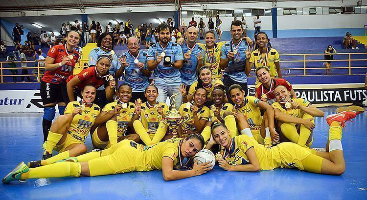 São José dos Campos é tetracampeão Paulista de futsal feminino