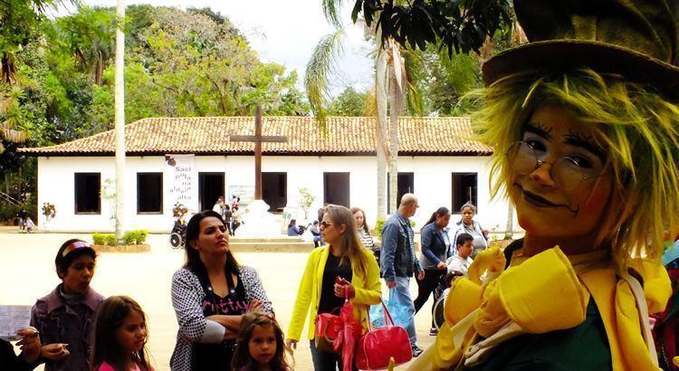 Turma do Sítio em Taubaté oferece programação especial para a criançada