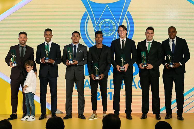 CBF premia os melhores do Brasileirão 2016