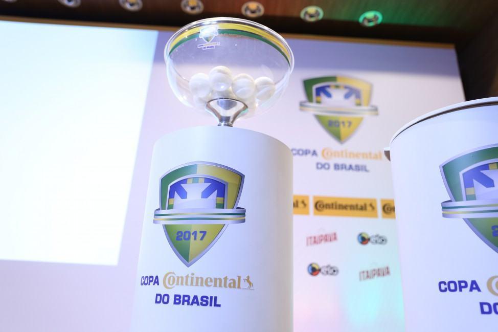 CBF realiza sorteio para confrontos da Copa do Brasil 2017