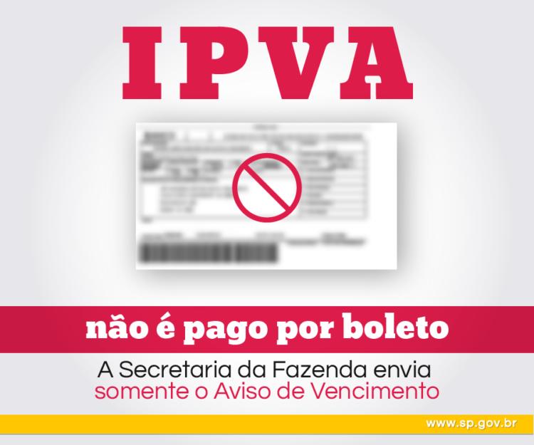 IPVA: Fazenda da Fazenda SP esclarece boatos que circulam nas redes sociais