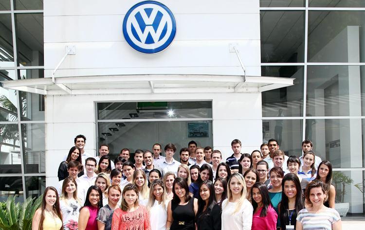 Volkswagen abre inscrições para Programa de Estágio 2017