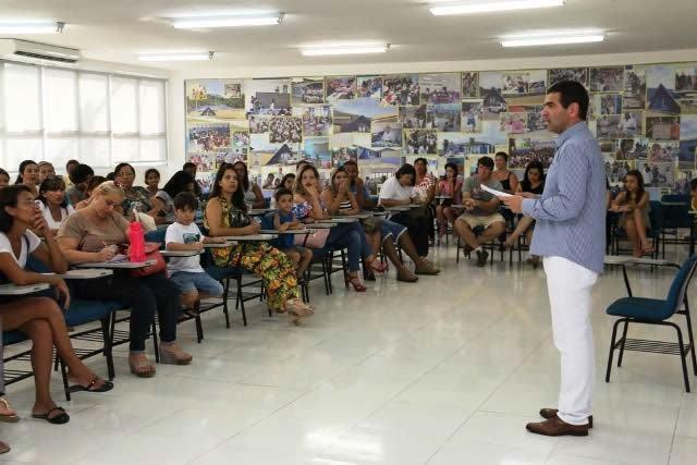 Bolsistas de Caraguá iniciam o ano no Colégio Adventista