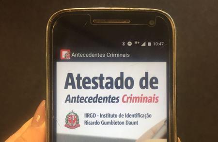 Poupatempo facilita consulta ao Atestado de Antecedentes Criminais
