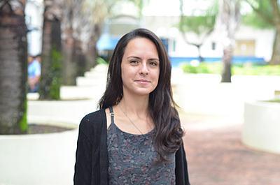 Estéfanie Machado participa de projeto voluntário na África