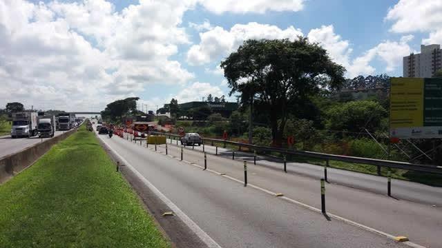 Tráfego da via Dutra passa por mudanças em São José