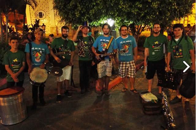 Banda Pé no Brejo vence o 1º Festival de Marchinhas em Paraibuna