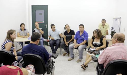 Legislativo realiza reunião com lideranças sobre o transporte público em Pinda