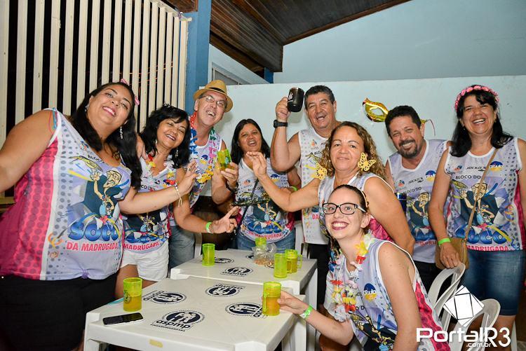 FOTOS: Grito de Carnaval do bloco Socó da Madrugada em Pinda