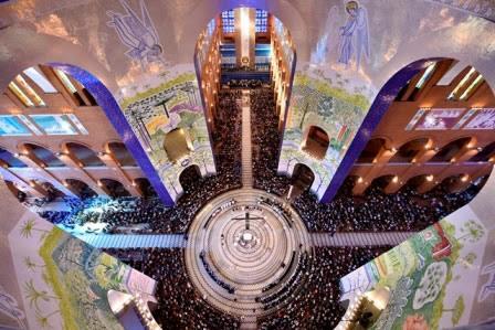 Obra do Baldaquino será inaugurada no Santuário Nacional