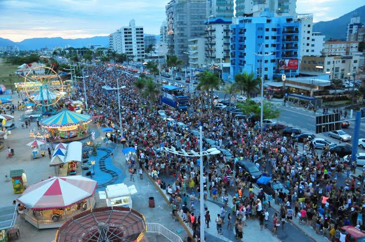 Movimento de turistas em Caraguá no Carnaval supera expectativa