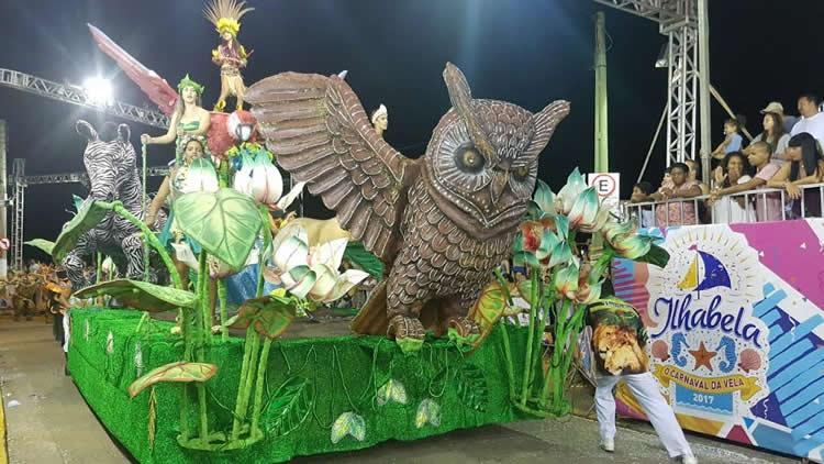 Escola de Samba Leões do Ita é Tricampeã do Carnaval de Ilhabela