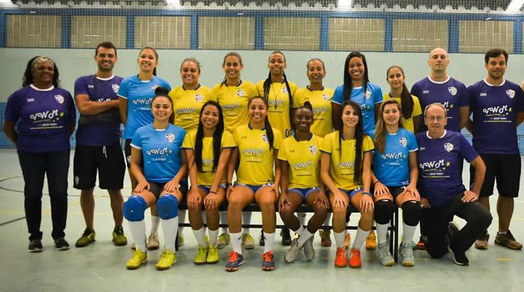 Futsal Feminino de São José  apresenta elenco para a temporada 2017