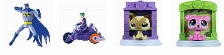 Batman e Littlest Pet Shop são as novas atrações do McDonald's