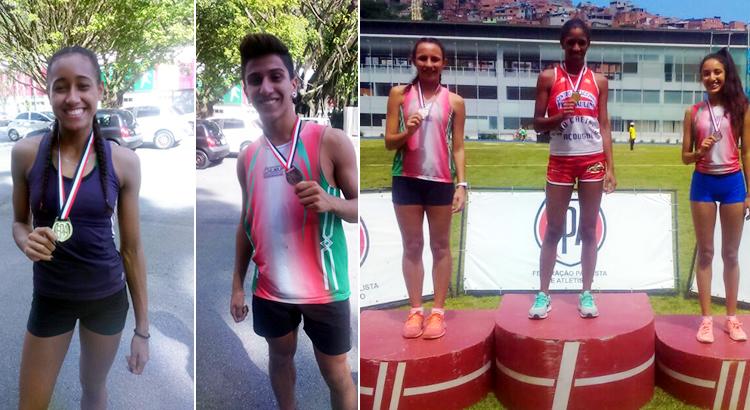 Pinda conquista cinco medalhas no Estadual Sub20 de atletismo