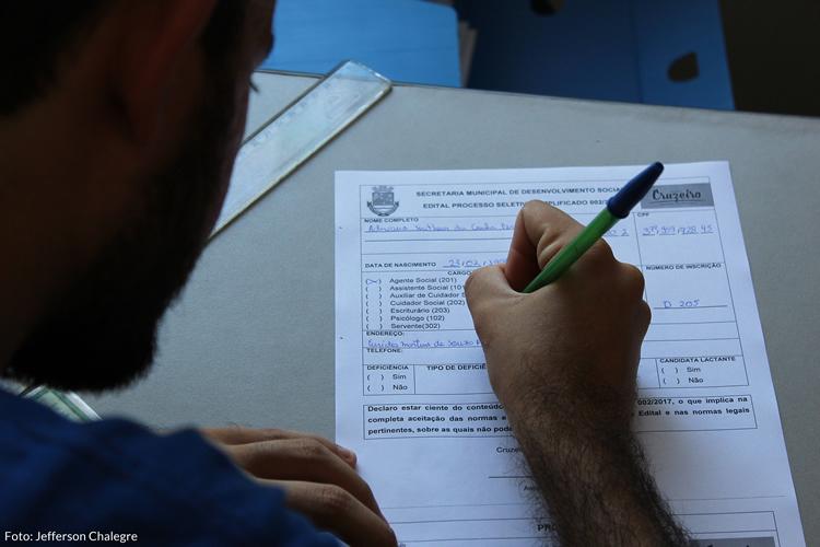 Prefeitura de Cruzeiro abre inscrições para processo seletivo
