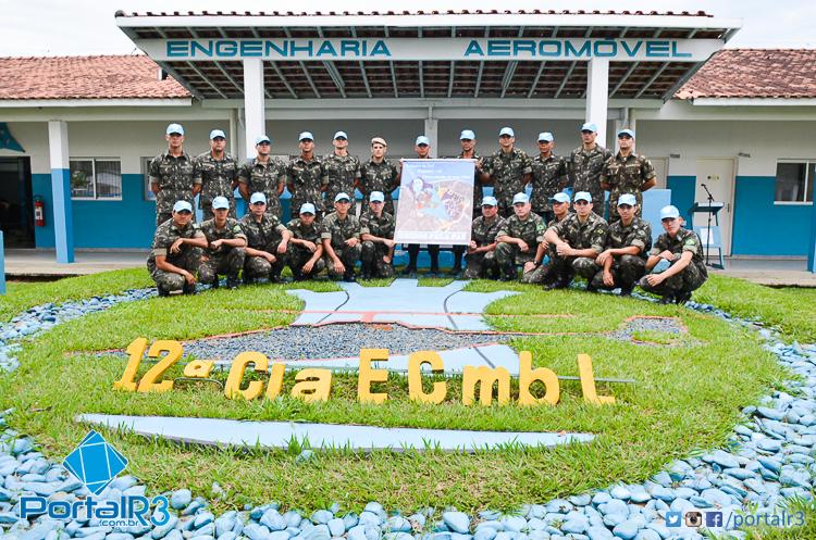 FOTOS: 12ª Cia E Cmb L entrega o Gorro Azul aos Militares da Missão de Paz