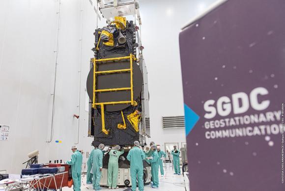 Após atrasos, satélite brasileiro deve ser lançado nesta quinta-feira