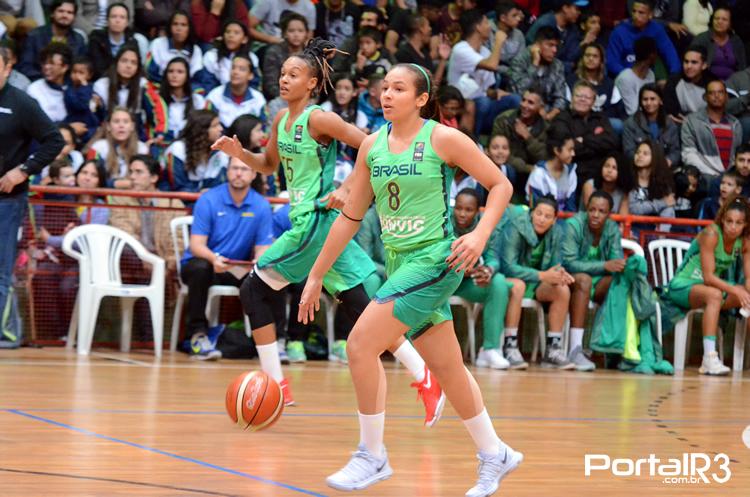 Seleção feminina de basquete encara a Angola nesta terça-feira
