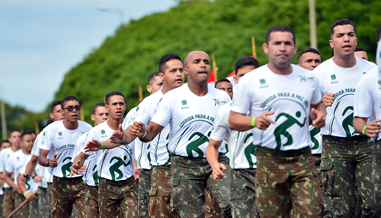 Comando Militar do Oeste realiza a 13ª corrida da paz